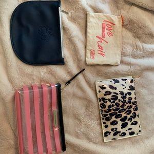 Handbags - Makeup Bags- 4 pack
